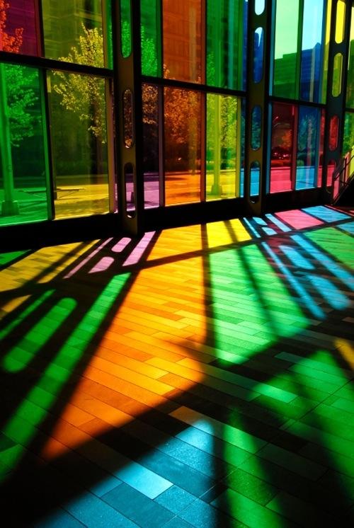 شیشه رنگی دو جداره
