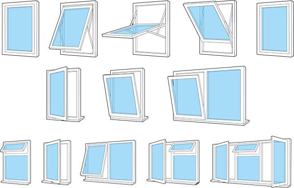 ساخت تولید پنجره دوجداره upvc در کرج البرز